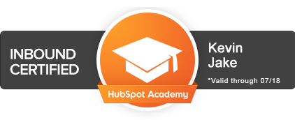 HubSpot Certified Inbound Marketing Professional